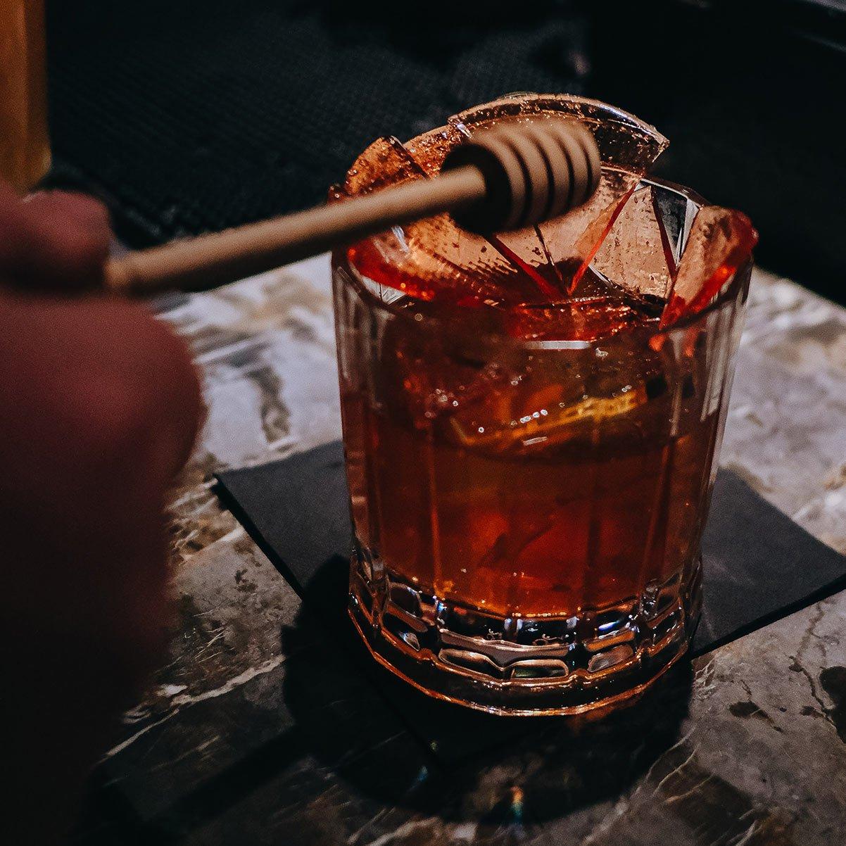 Break into the Pompadour Cocktail at Bourbon & Banter