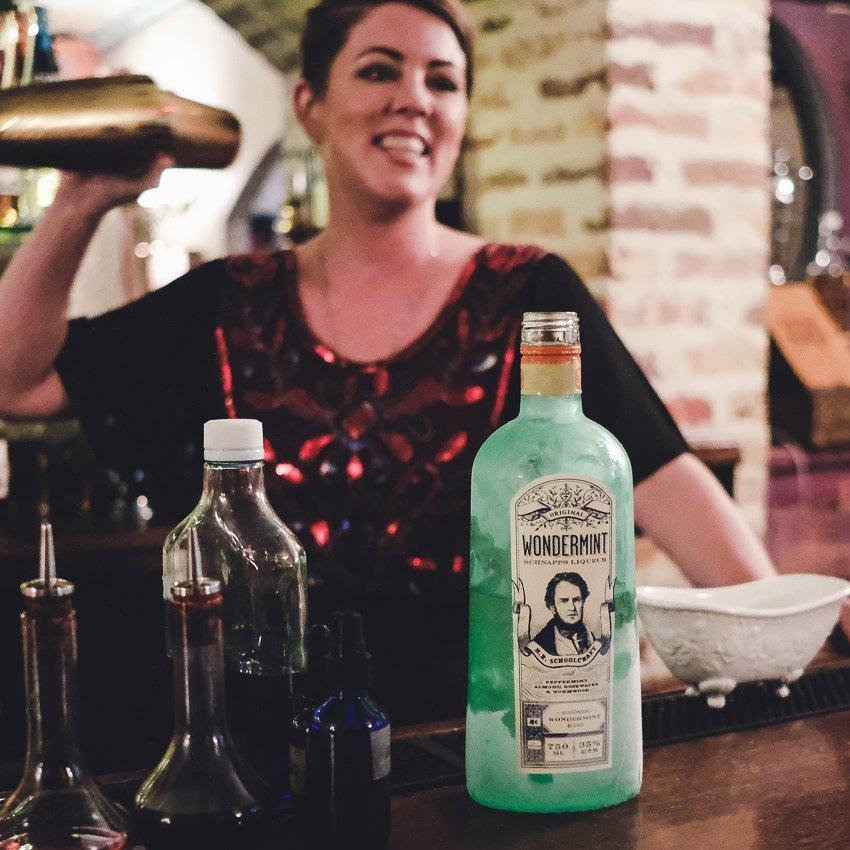 Our Bartender, Amelia.