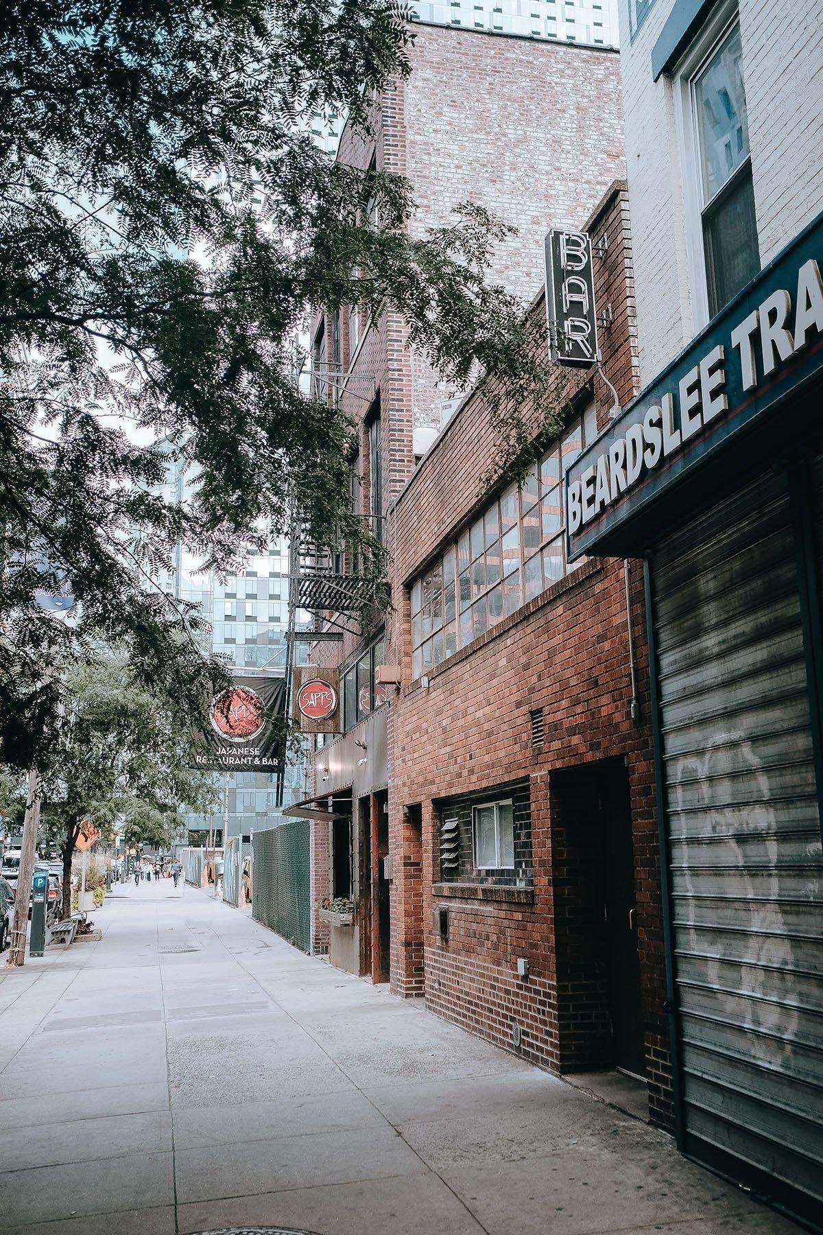 The Entrance to Dutch Kills NYC Speakeasy