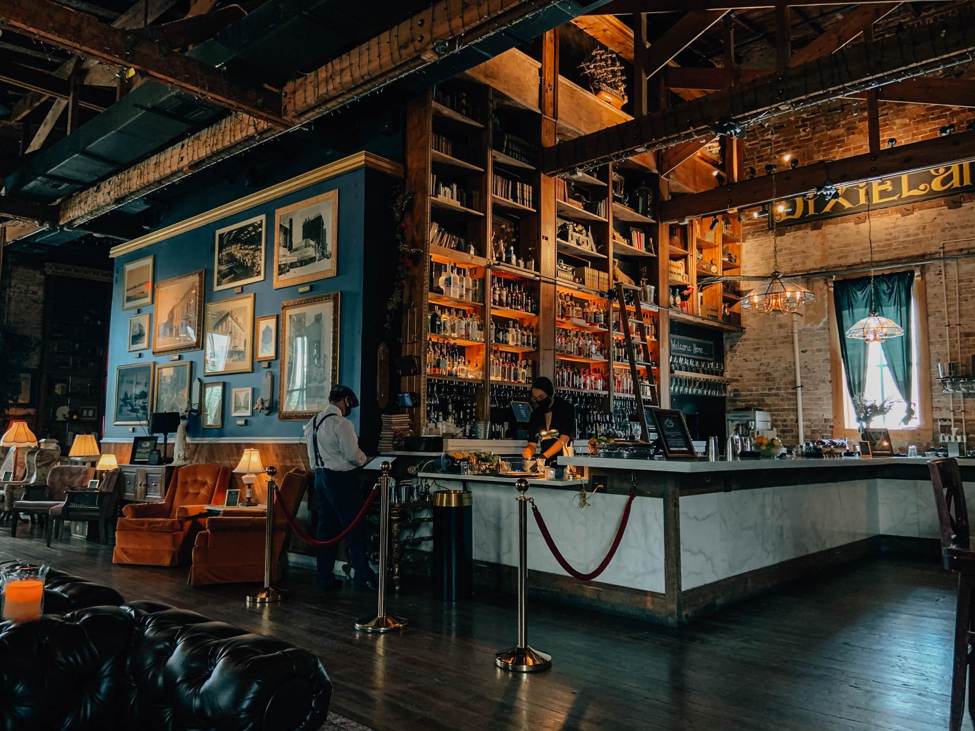 The bar at Mathers Social Gathering