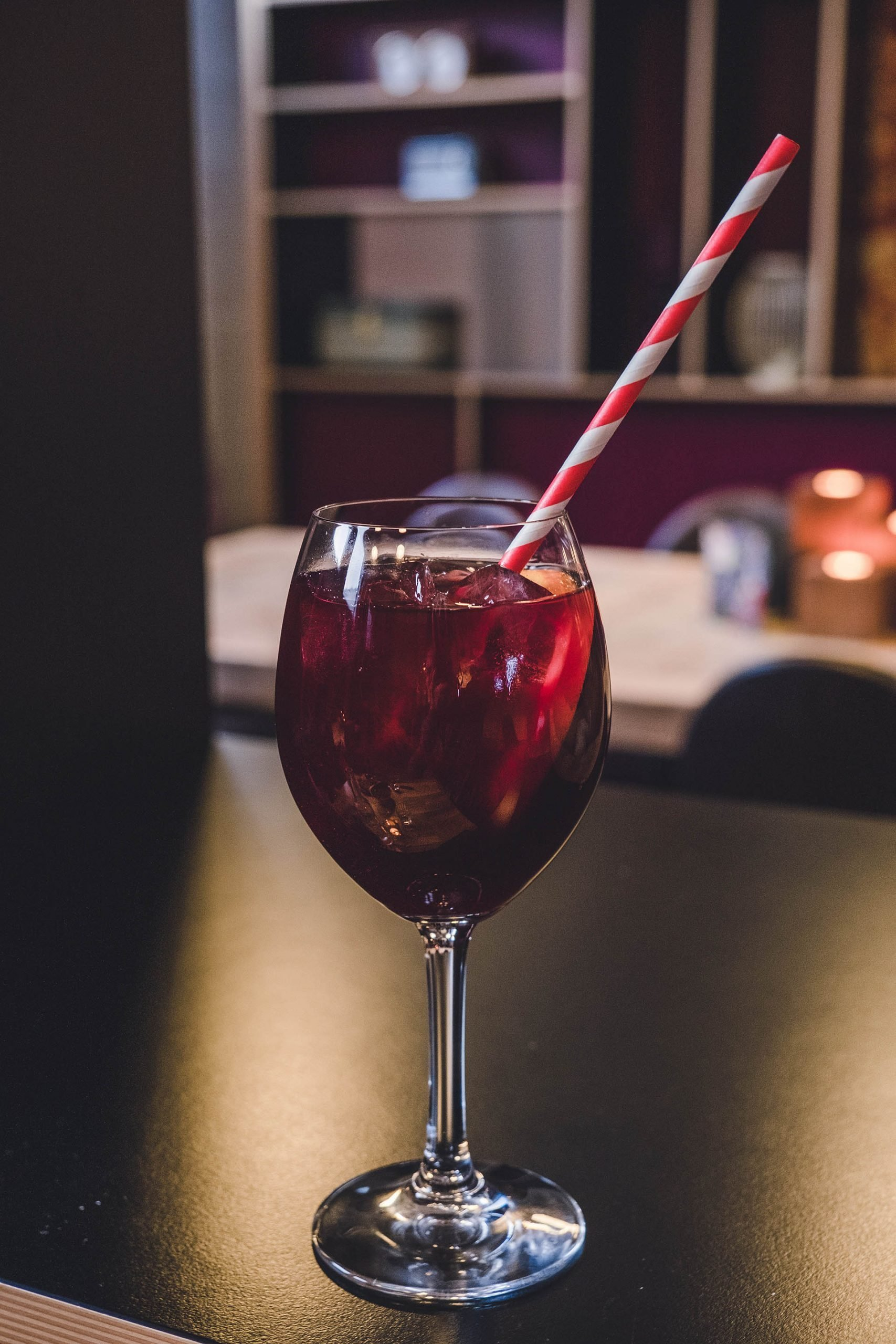 We had to try the sangria cocktail