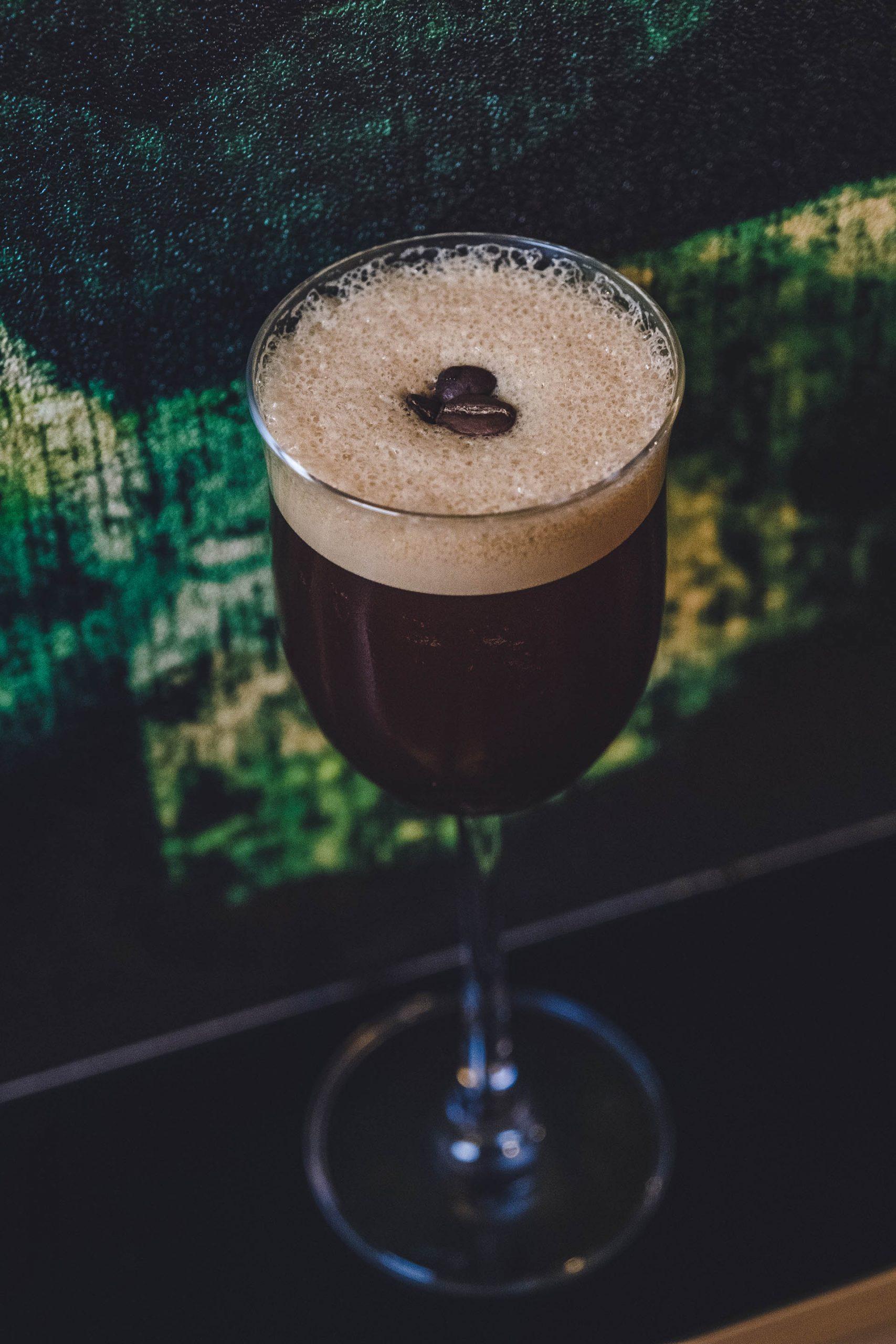 The espresso martini at Slippbarinn hip Reykjavik bar