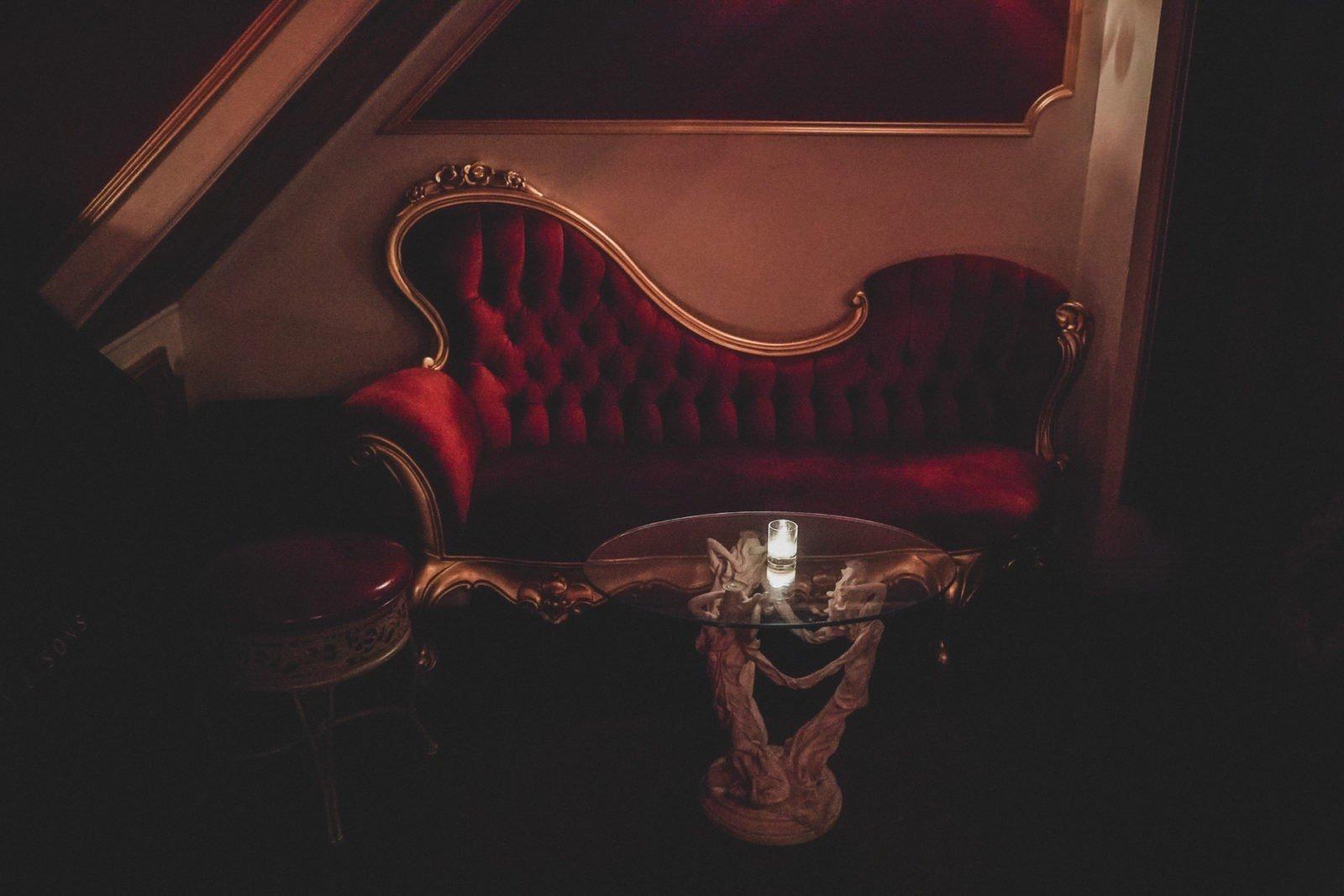 Le Boudoir a Secret Bar in Brooklyn NYC