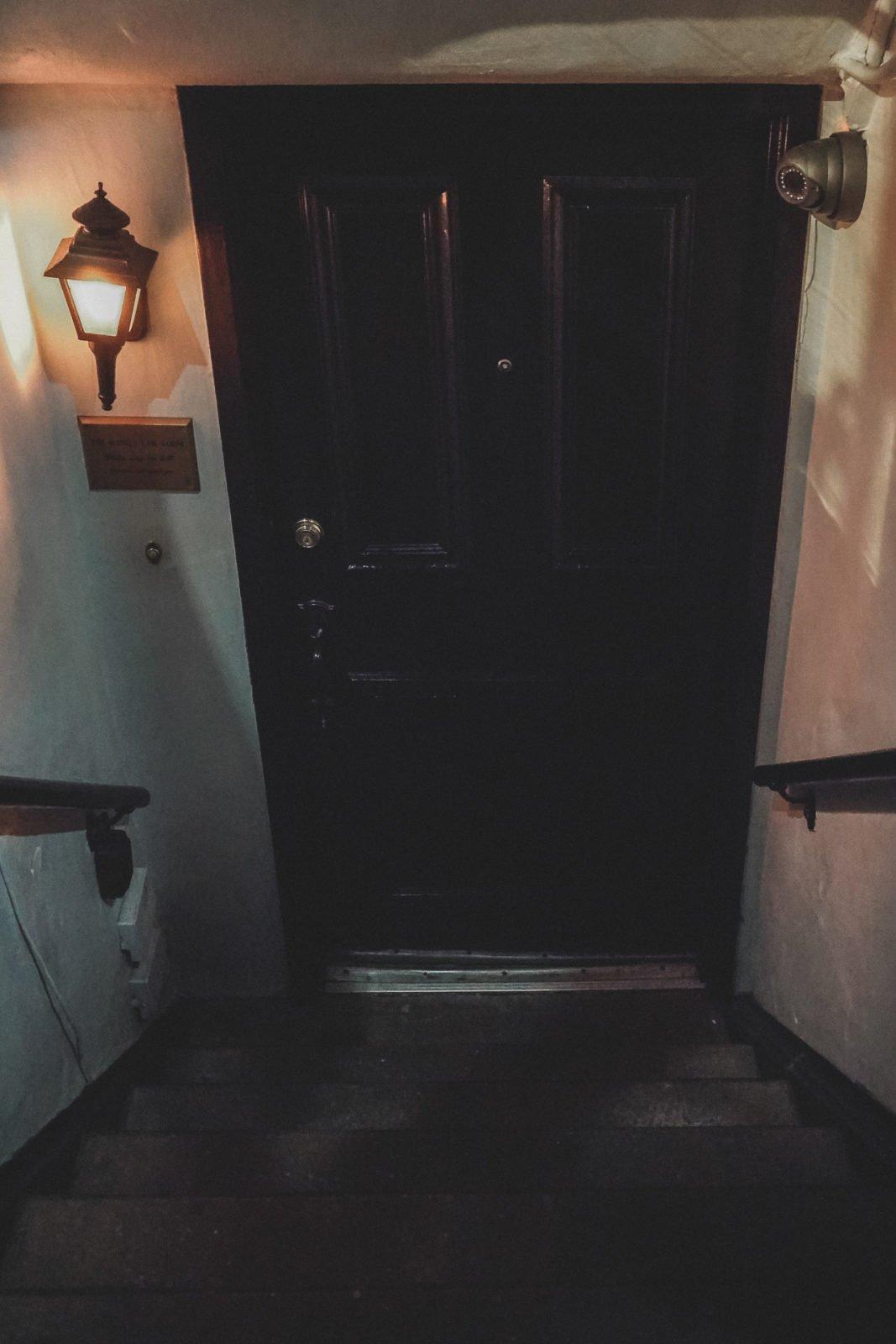 Raines Law Room New York City Secret Bar entrance